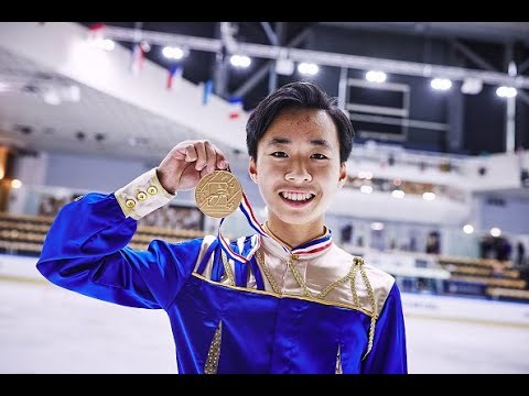 Richmond's Wesley Chiu won the gold medal for Canada at the Junior Grand Prix in France last weekend