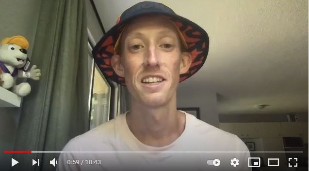 Evan Dunfee talks candidly via Zoom video from his home to Richmond News reporter Alan Campbell about all things Olympics and his hopes for the upcoming Games in Tokyo