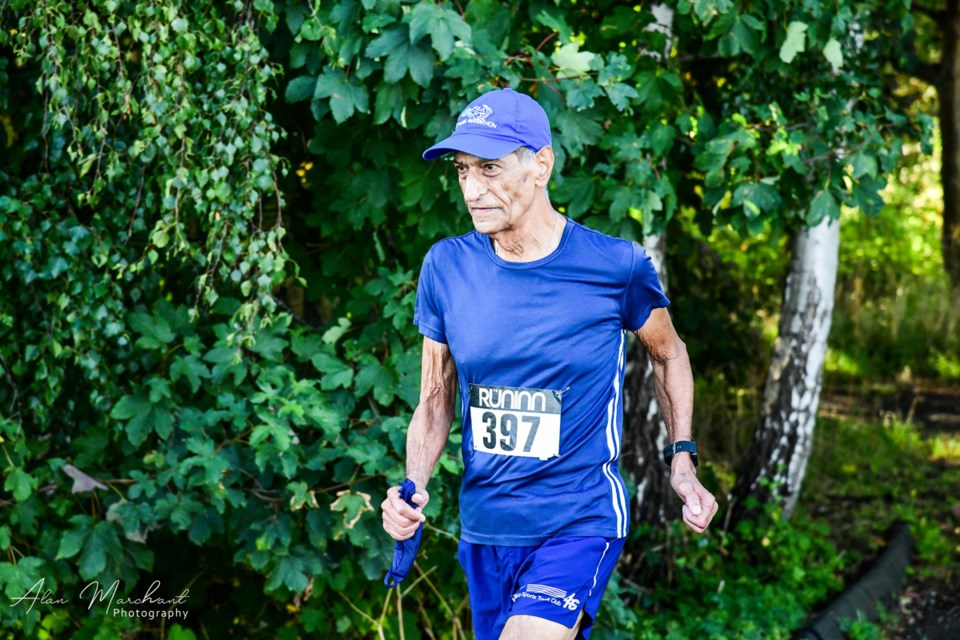 Akram Khan in action at the recent Forever Young Club 8K