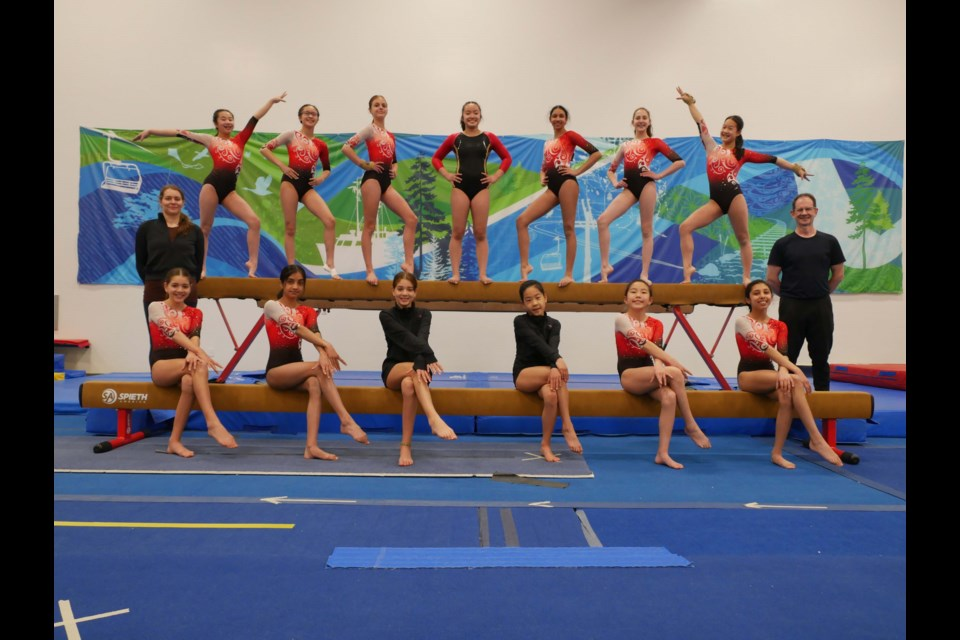 Athletes from the Richmond Gymnastics Association (RGA) competed well at their virtual provincials recently