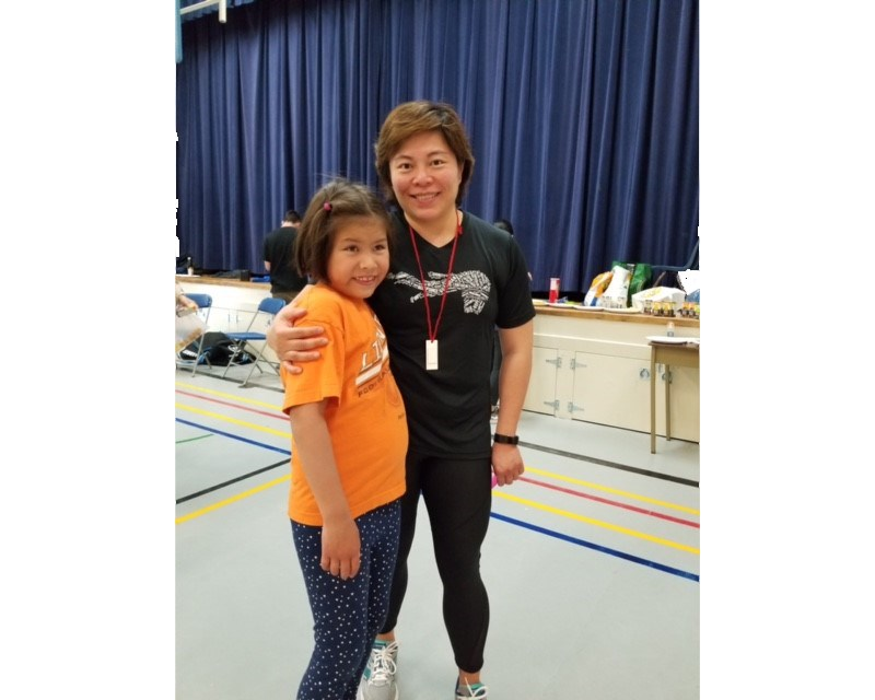 Special Olympics BC Richmond coach Phoebe Lau