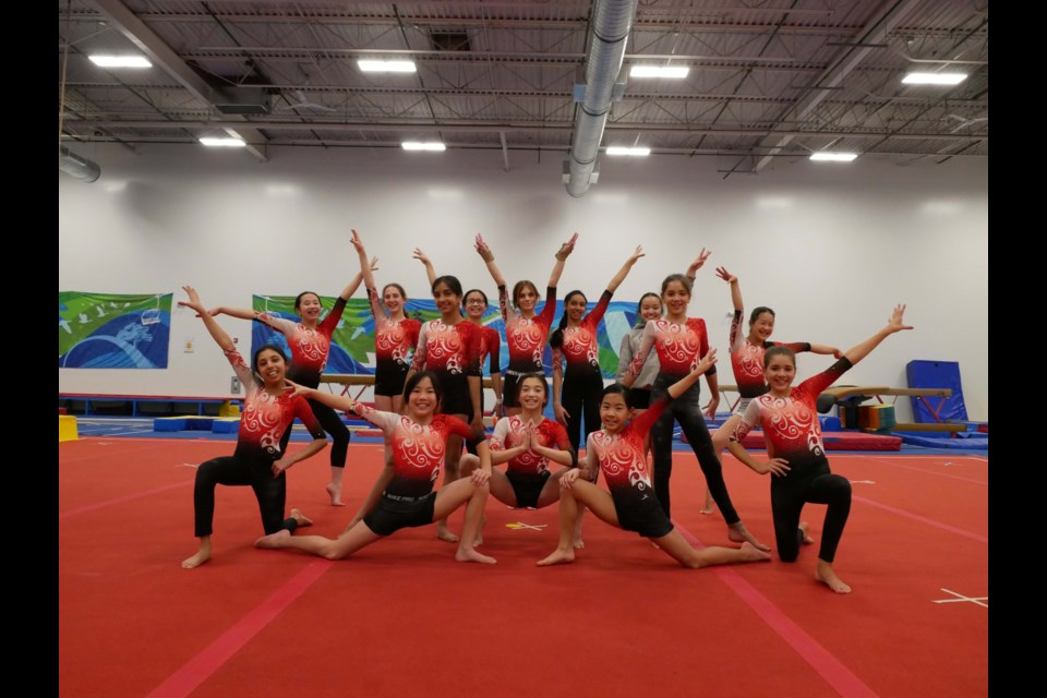Richmond gymnasts have not been able to compete for almost a year due to the pandemic