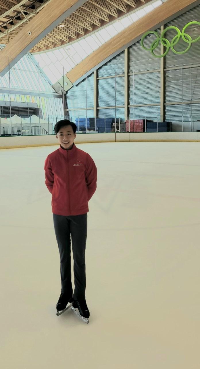 Wesley Chiu figure skater