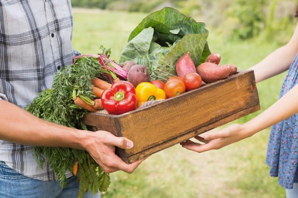 Produce donation