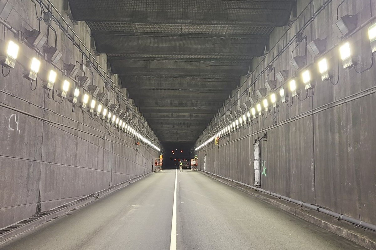 Massey Tunnel to close for two nights in May