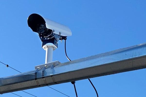 Traffic video cameras