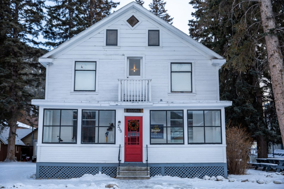 The Banff Hockey House, a heritage building, will be demolished to make way for a new affordable housing development. EVAN BUHLER RMO PHOTO