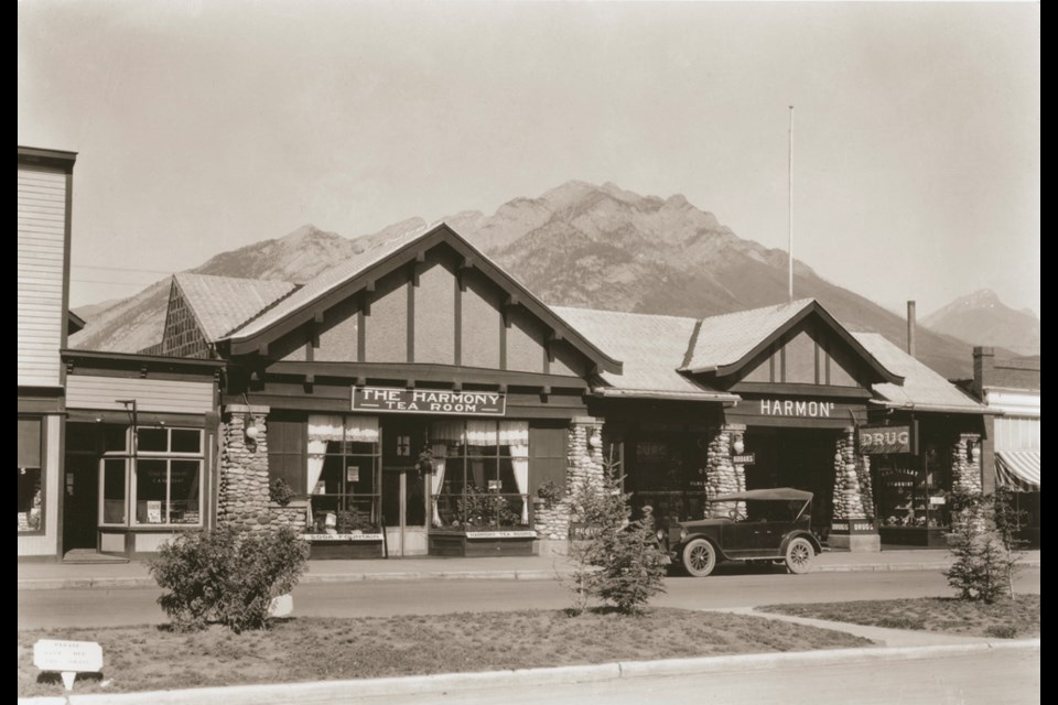 The original Harmons Building. SUBMITTED PHOTO