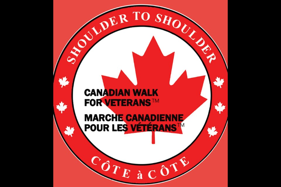 The ongoing pandemic will not hinder the Canadian Walk For Veterans in the Bow Valley.