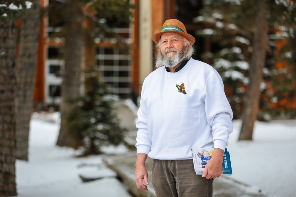 Canmore author Richard R. Wyly Sr. has published two books as part of his Tales of Wonder series and is working on the next two. EVAN BUHLER RMO PHOTO