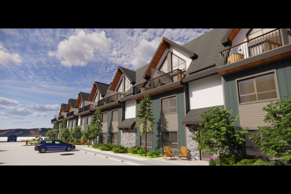 The Town's planning commission approved a 74-unit build at 115 Kananaskis Way and 501 Bow Valley Trail following unanimous approval of a pair of minor variances.  Handout