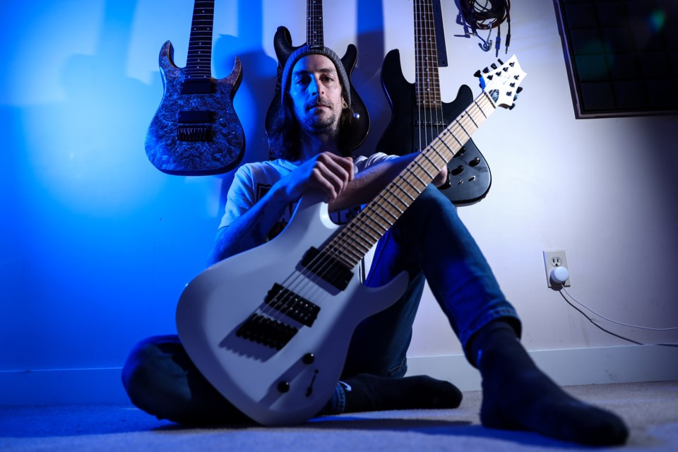 Matt Homeniuk of Party At The Moontower started a new metal project called Suspended Glaciers, and released his first single on April 30. EVAN BUHLER RMO PHOTO