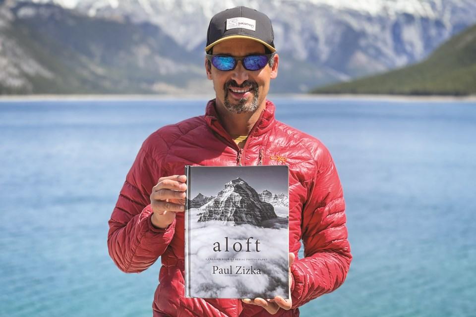 Paul Zizka's new photo book Aloft, showcases the Canadian Rockies from the Air. PAUL ZIZKA PHOTO