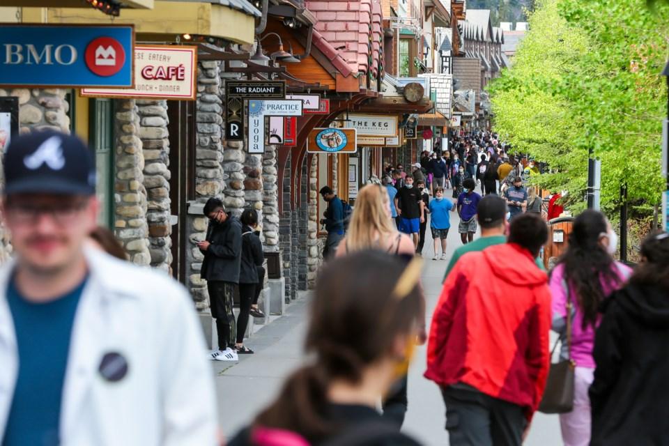 20210605 Banff Avenue 0001