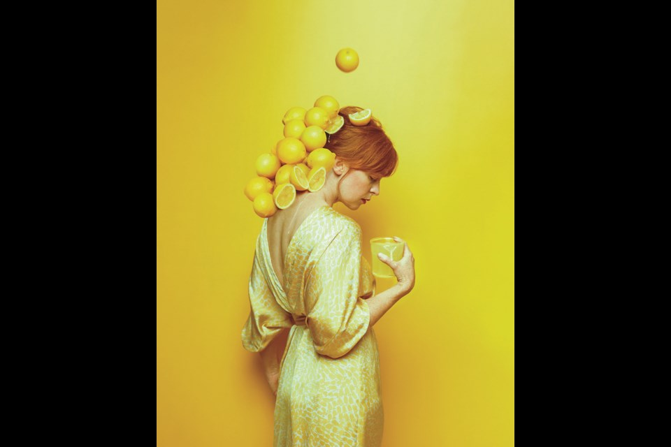 Lemonade by Canmore artist Alexis McKeown.