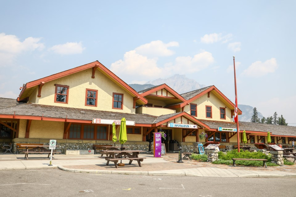 20210720 Banff Train Station 0003