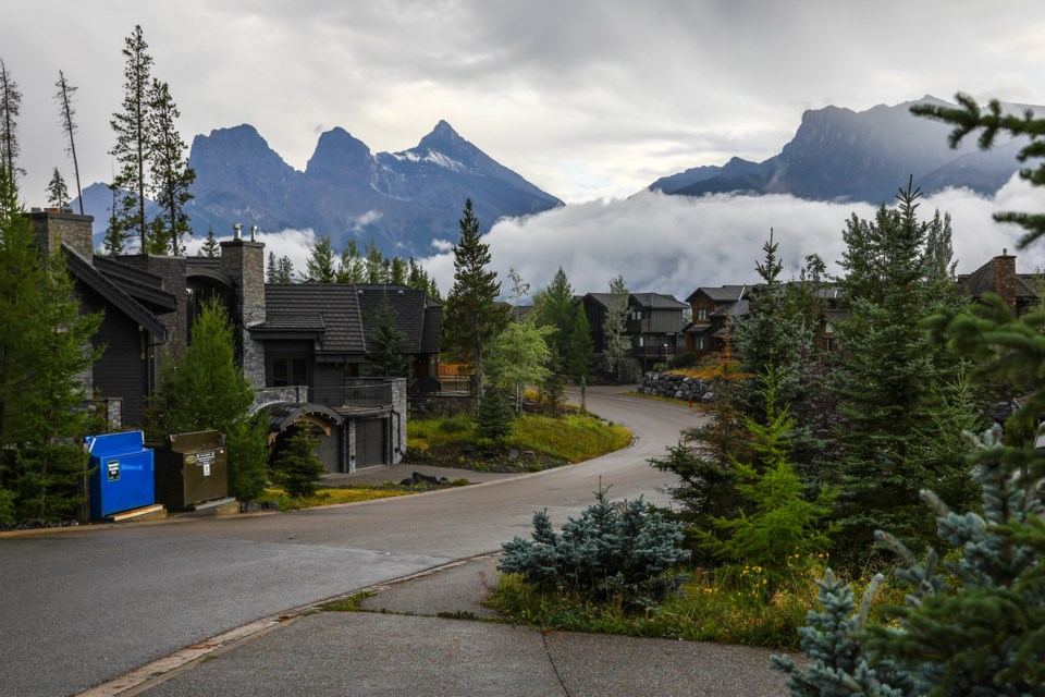 A series of extensions were approved by Canmore council for commercial and residential lots in Silvertip. EVAN BUHLER RMO PHOTO