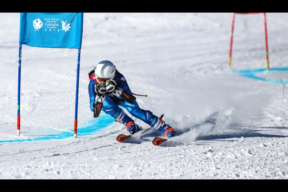 Canmore's Britt Richardson was named to the Canadian Alpine Ski Team (CAST) NextGen Program, recognizing alpine athletes' performance and potential as an alpine ski racer. RMO FILE PHOTO
