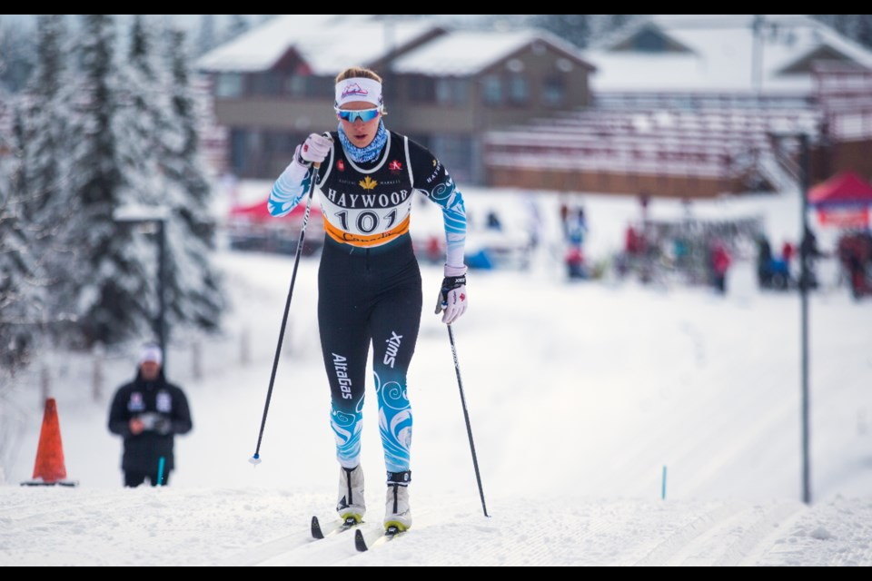 Canada's Dahria Beatty was scheduled to compete at  the 2020 COOP FIS Cross-Country World Cup at the Canmore Nordic Centre before it was cancelled. RMO FILE PHOTO