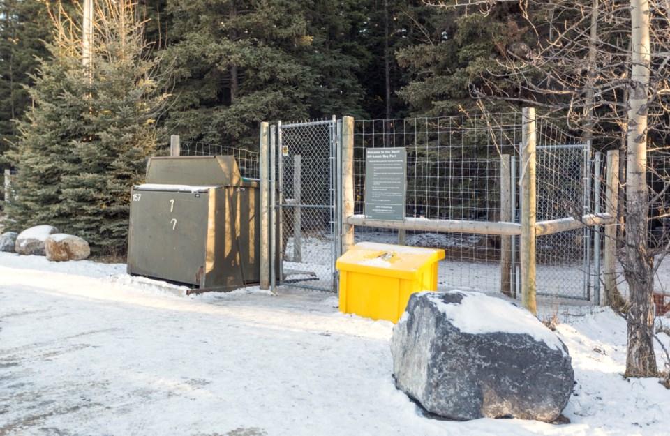 20181120 Banff Dog Park 0002
