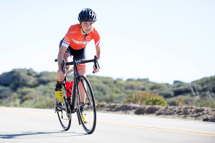 Cannore's Sara Poidevin was named to Canada's next cycling team headed to the summer Olympics in 2021. SUBMITTED PHOTO