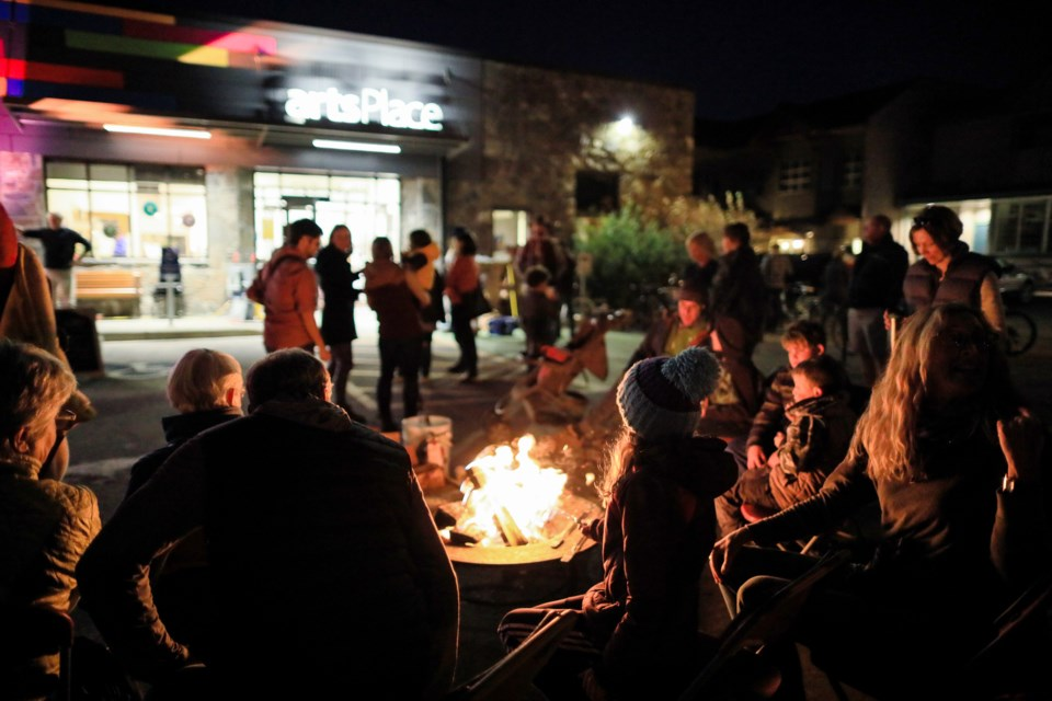 Canmore Festival of Art and Creativity starts the weekend with a Community Campfire Kickoff Party on Sept. 27. BURNETT PHOTOGRAPHY SUBMITTED PHOTO