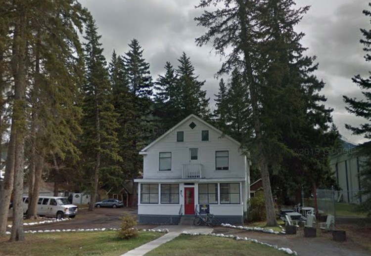 The Town if Banff is moving forward with a price-restricted housing project at 338-340 Banff Ave. GOOGLE STREET VIEW IMAGE