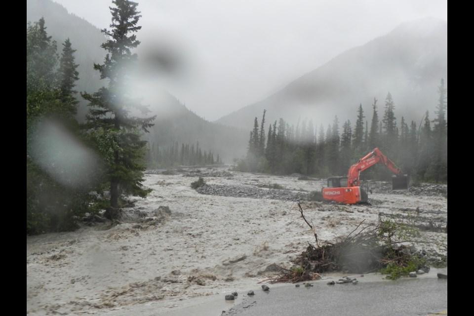 The 2013 flooding wreaked havoc on Jura Creek. RMO FILE PHOTO