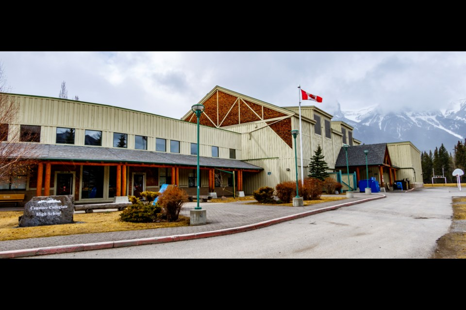 Canmore Collegiate High School.