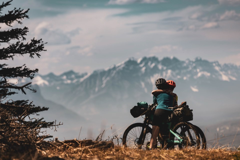 Banff Mountain Film and Book Festival presents Choosing to Live featuring Canmore's Sarah Hornby on a transformational healing journey as she mourns the passing of her husband Ryan Correy in 2017 as part of this year's lineup. SUBMITTED IMAGE