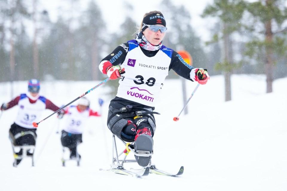 Para nordic skier Christina Picton. SUBMITTED PHOTO