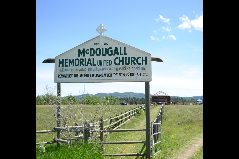 The McDougall Stoney Mission Society is currently working on the McDougall Church restoration project, green-lighted by the province earlier this year. At the same time, the Stoney Nakoda Tribal Council has asked the province to strip the site of its historic designation.