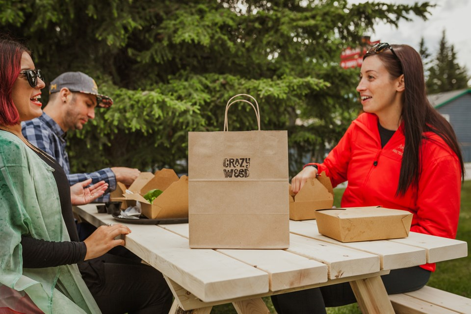 Crazyweed Kitchen in Canmore offers takeout and DIY kits to prepare your own gourmet meal. SILCKERODT PHOTOGRAPHY