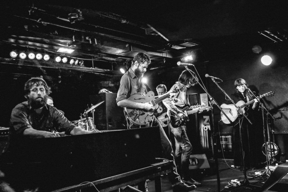 The Deep Dark Woods performs at the Biltmore Cabaret in Vancouver in 2017. JESSICA LIO PHOTO