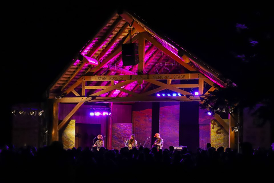 P.E.I-based trio The East Pointers close out the Sunday lineup at the Canmore Folk Music Festival in 2019. RMO FILE PHOTO