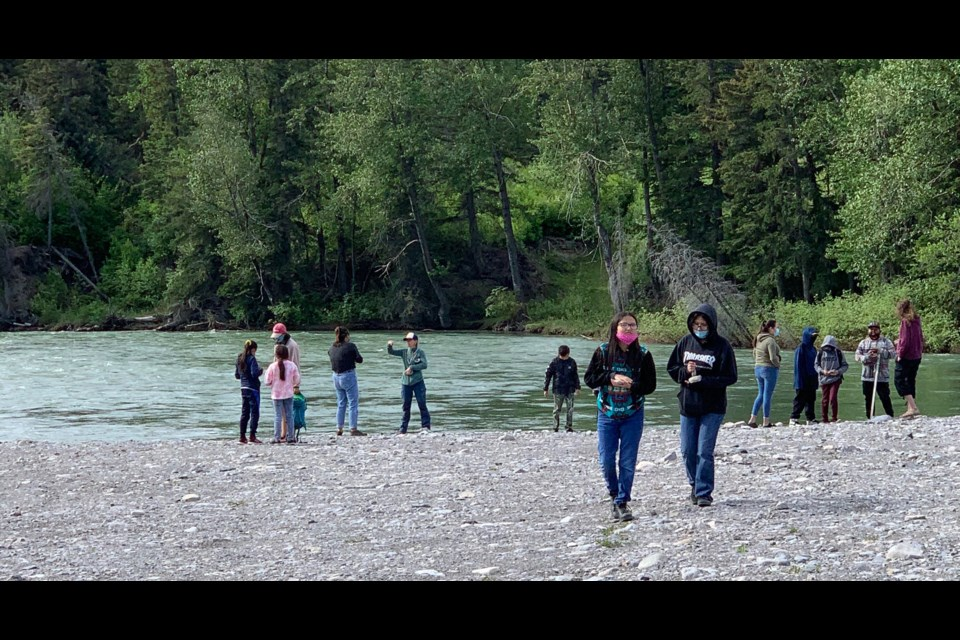 Stoney Nakoda youth are participating in a project involving science and culture. SUBMITTED PHOTO
