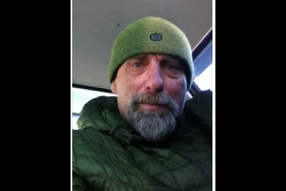 Ken Wallator, 52, has been reported missing. He was last seen in Jasper Dec. 9 but believed to be in the Hinton area. SUBMITTED