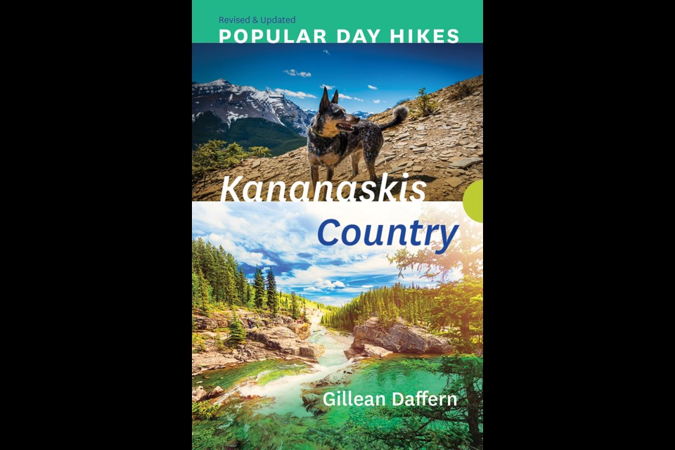 Rocky Mountain Books fourth edition of the Popular Day Hikes Kananaskis Country by Gillean Daffern with updated and revised hiking trails. Photo Credit: Rocky Mountain Books
