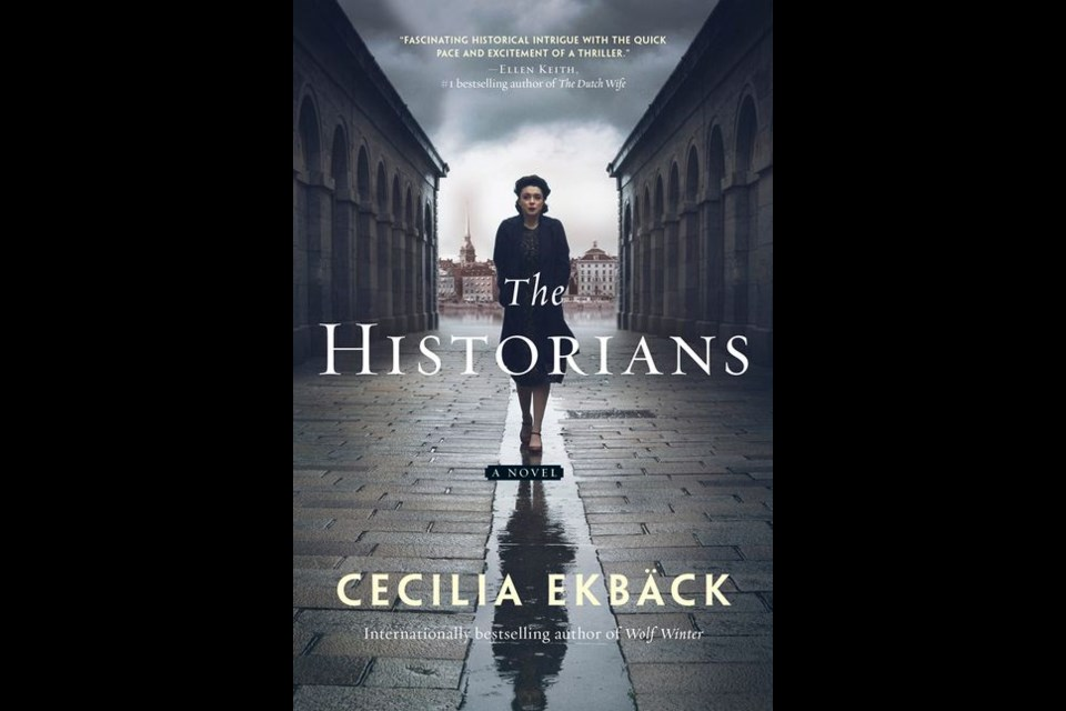 The Historians by Cecilia Ekbäck is available now at local bookstores or through Harper Collins Canada.