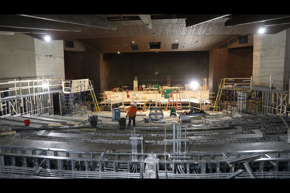 A major revitalization project is currently underway at the Banff Centre for the Jenny Belzberg Theatre, formerly the Eric Harvie Theatre. BANFF CENTRE PHOTO
