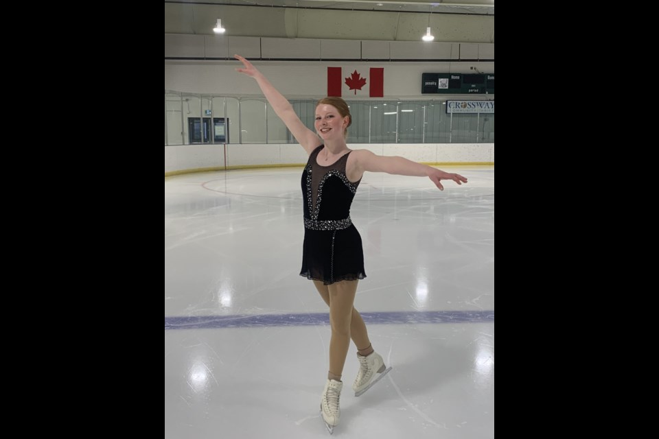 Canmore's Paige Domencio won two bronze medals at the B.C./YK Victoria Day Virtual Event from May 20-23. SUBMITTED PHOTOS