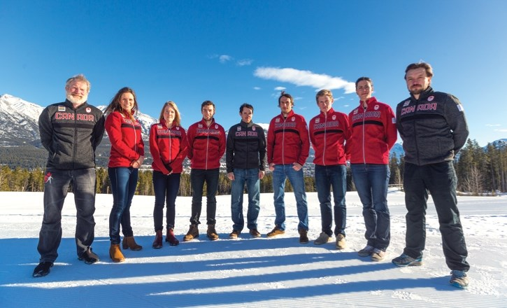 Canada's olympic biathlon team was named Tuesday (Jan 16) at the Canmore Nordic Centre.
