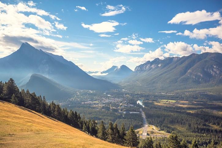 Banff from Norquay