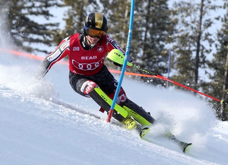 Trevor Philp and Erik Read spoke with Banff Alpine Racers athletes before heading to the 2018 Winter Olympics in PyeongChang.