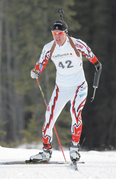 Biathlete Mark Arendz captured three medals at the IPC World Cup race in Finland.