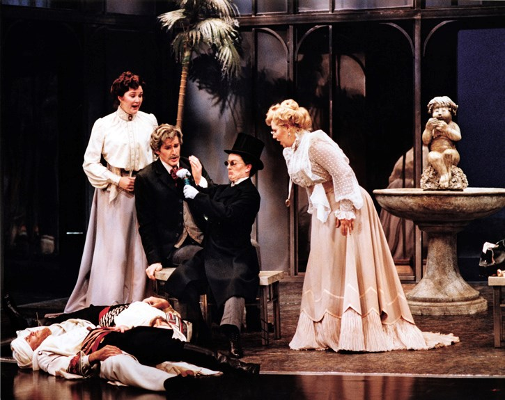 Mozart's Cosi Fan Tutte is on the Eric Harvie Theatre stage, Aug. 19 and 21.