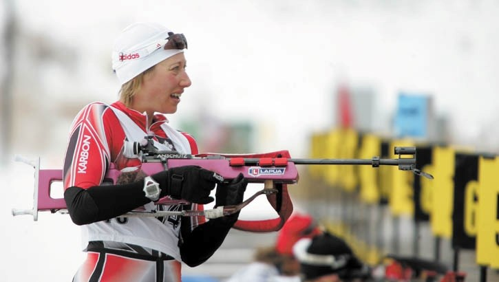 Zina Kocher will head to Europe to compete in biathlon world cup races.