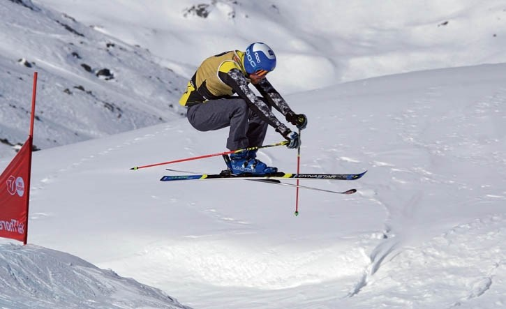 Kris Mahler races to Bronze at the world junior championsips in Val Thorens, France