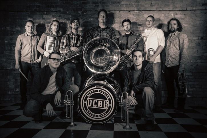 Winnipeg's Dirty Catfish Brass Band plays Wild Bill's Saloon Aug. 3.
