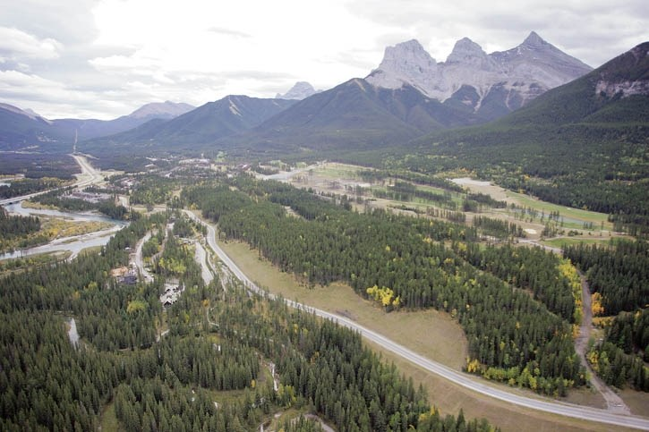 Wildlife managers in and around Canmore have undertaken a two year remote camera study to better understand how designated wildlife corridors are being used by people and